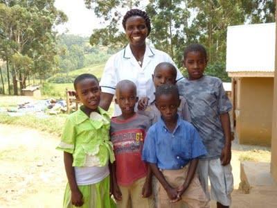 Deaf kids with Evas